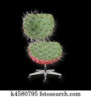 Cactus Chair black