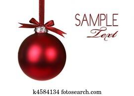 Holiday Christmas Ornament Hanging