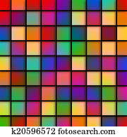 Colourful Glass Tiles