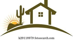 Desert home Logo