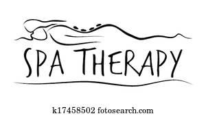 heilbad, therapeutisches, schablone