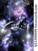 space cruiser spaceship