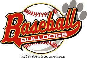 bulldoggen, baseball