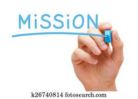 Mission Blue Marker