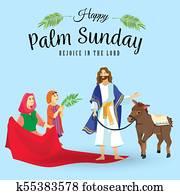 Palmsonntag Feiertag
