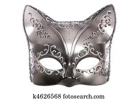 Gatto maschera archivi fotografici gatto maschera - Pagina colorazione maschera gatto ...