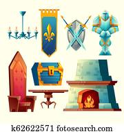 interior objects for fantasy game design