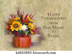 Happy Thanksgiving Our Home to Your