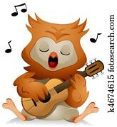 Owl Guitar
