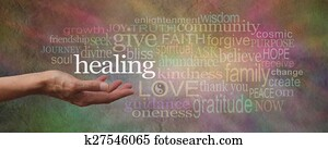 Wise Healing Words Banner
