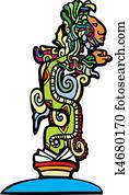Mayan Vision Serpent