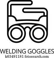 Welding Goggles Clip Art Vectors Our Top 344 Welding Goggles Eps Images Fotosearch