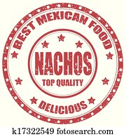 Nachos-stamp