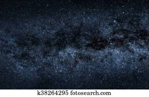 Stars and Milky Way Stock Photo | 1783587 | Fotosearch