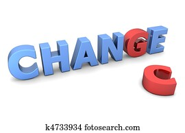 Chance to Change - Red and Blue