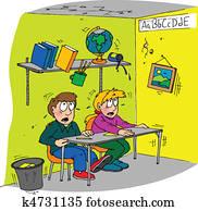 earthquake classroom