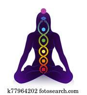 Kundalini Serpent Chakras Awakening Woman Power Symbol