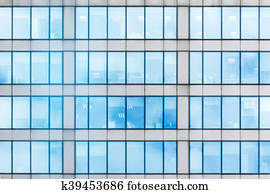 Glasfassade textur  Stock Images of Glass curtain wall k12243496 - Search Stock ...