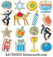 Jewish Chanukah Cookies