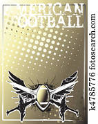 american football background 2