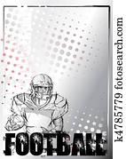 american football background 5