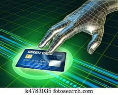 Credit card stealing