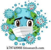 Corona virus global pandemic