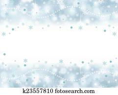 frozen aqua blue party background