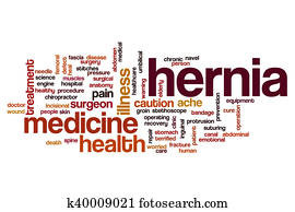 Hernia word cloud