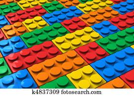 Color building blocks