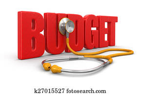 stethoscope and budget