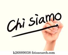 Italian words for About us