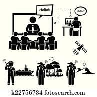 geschaefts, video conferencing