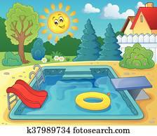Pool theme
