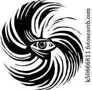 Hurricane Storm Eye