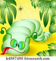 The amusing caterpillar