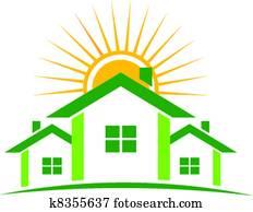 Sunny houses logo