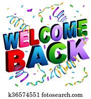 Welcome Back Message