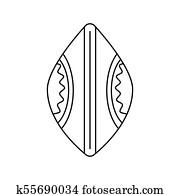Zulu Shield Clip Art Vectors | Our Top 33 Zulu Shield EPS