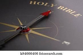 Find The Way Of Faith. Catholic Holy Bible.