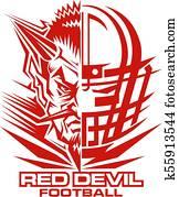 red devil football