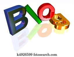 Colorful blog header