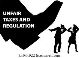Gov, steuer, bezahlen schritte, unten, auf, geschaefts