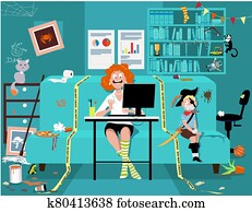 Working from home and homeschooling solution