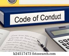 code of conduct binders