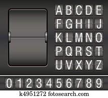 mechanical scoreboard