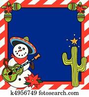 Mexican Christmas Card