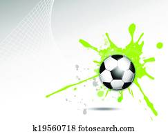 Dynamic sports background
