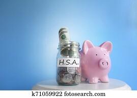 HSA savings account money