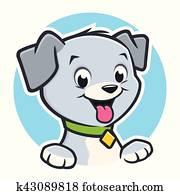 Cartoon Dog Puppy